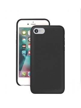 COQUE IPHONE 6/6S EN CUIR DE LUXE EXCLUSIVE CASE NOIR