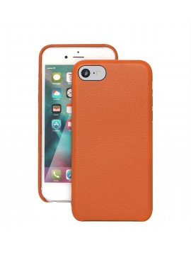 COQUE IPHONE 6/6S EN CUIR DE LUXE EXCLUSIVE CASE ORANGE