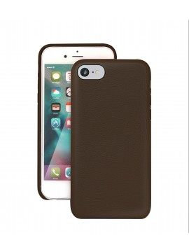 COQUE IPHONE 7 EN CUIR DE LUXE EXCLUSIVE CASE CHOCOLAT