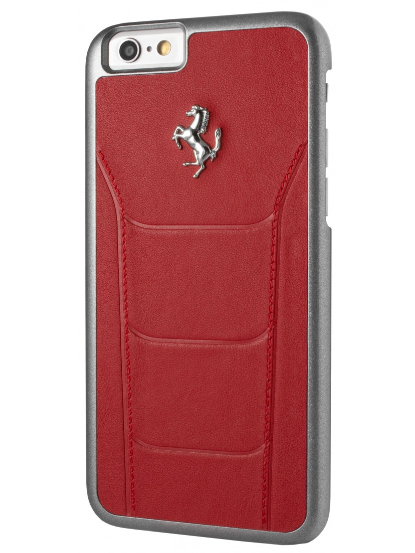 coque rigide ferrari 488 cuir rouge surpiqures iphone 6 6s coque exclusive. Black Bedroom Furniture Sets. Home Design Ideas