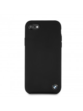 BMW SIGNATURE COQUE RIGIDE SILICONE NOIR - IPHONE6/7/8