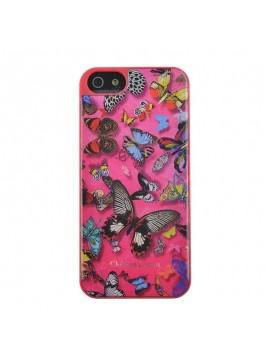 COQUE RIGIDE CHRISTIAN LACROIX BUTTERFLY ROSE