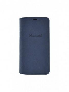Etuis à rabat FACONNABLE pour modèle IPHONE XS - FAI85BKFR114