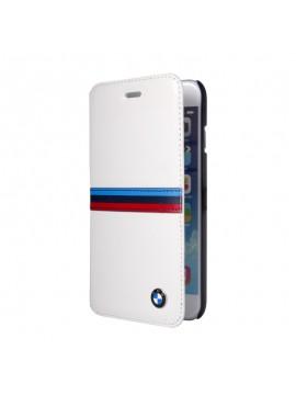 ETUI FOLIO BMW CUIR BLANC