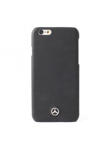 COQUE RIGIDE NOIRE MERCEDES CUIR COLLECTION PURE LINE