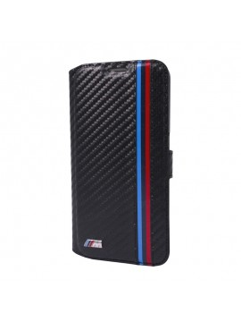 ETUI FOLIO BMW M COLLECTION NOIR CARBONE EFFECT