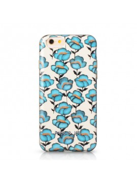 COQUE RIGIDE PAUL AND JOE COLLECTION BLUE FLOWERS