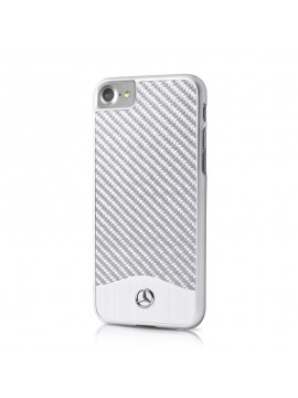 Coque Mercedes fibre de carbone collection Brushed Aluminium