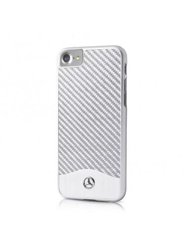 Coque Mercedes fibre de carbone collection Brushed Aluminium