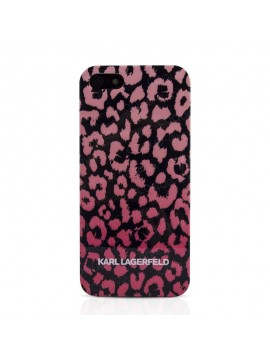 COQUE RIGIDE KARL LAGERFELD CAMOUFLAGE ROSE K.L